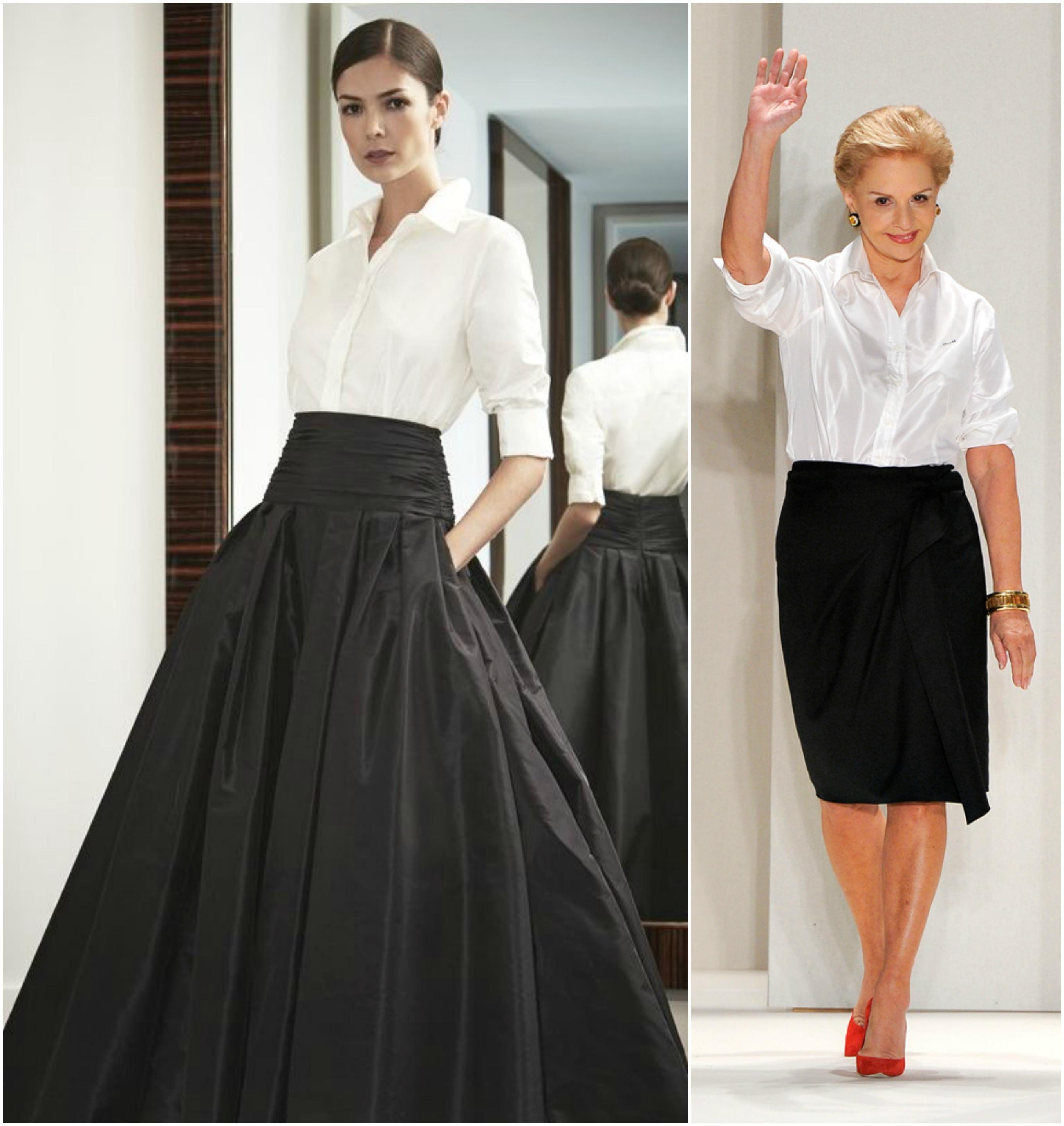 Adoro a Carolina Herrara, é para mim um ícone da moda clássica e atemporal.  Em algumas de suas colecoes ela apresenta a camisa branca, mas a que mais  amei ... 3ef9787374