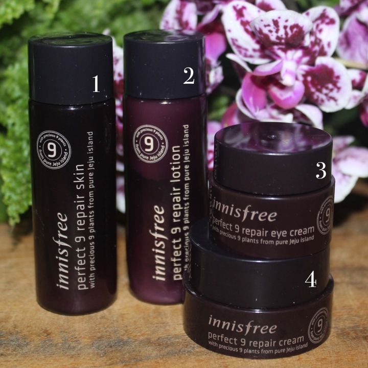 Resenha do Perfect 9 repair da Innisfree