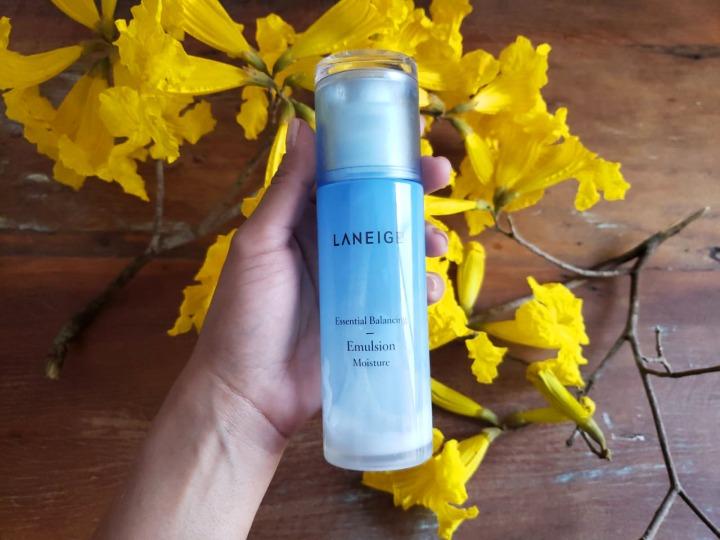 Hidratante facial da Laneige: Essential Balancing – EmulsionMoisture